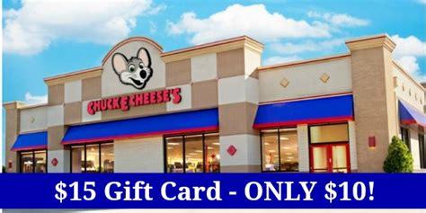 Chuck E Cheese Gift Card Amazon - 15 chuck e cheese gift card only 10 become a coupon queen