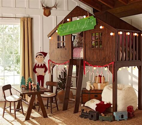 pottery barn treehouse bed tree house twin bed furniture kids