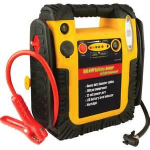 Wagan 900 amp battery jumper with air compressor walmart com