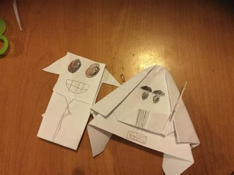 Origami Yoda Darth Paper - yoda vs darth vader origami yoda