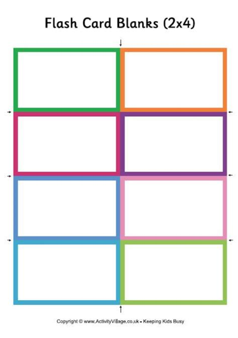 palm cards template by cori our homeschool page 2