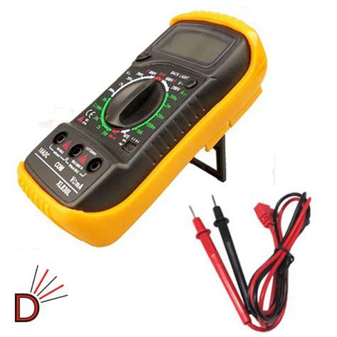 Volt Meter Digital Vst Multi Display 2 Mode Led Back Light digital lcd multimeter voltmeter ammeter ac dc ohm volt