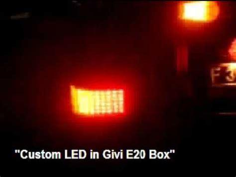 Box Givi E20 Custom Led In Givi E20 Dragtimes