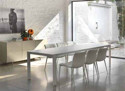bontempi tavoli allungabili tavolo bontempi allungabile pascal con struttura in acciaio