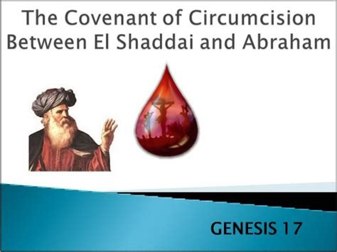 the covenant giving god the reins books the covenant of circumcision between el shaddai and abraham