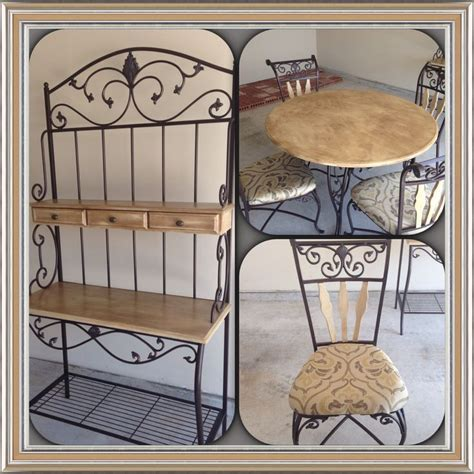 Bakers Racks For Kitchens by Kitchen Table And Bakers Rack Home