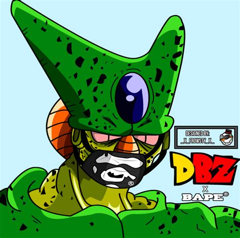 dbz cell imperfect more dbz pics http www imperfect cell by fr0wsty on deviantart