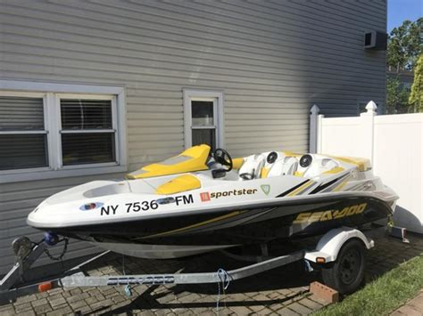 sea doo boat and trailer weight 2006 sea doo sportster powerboat for sale in new york