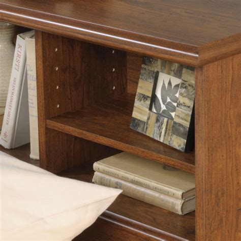 sauder orchard hills bookcase headboard sauder 418630 orchard hills full queen bookcase