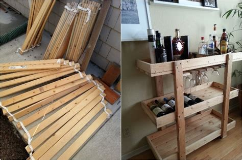 ikea bed slats hack 18 neat things you can create with old bed slats page 2