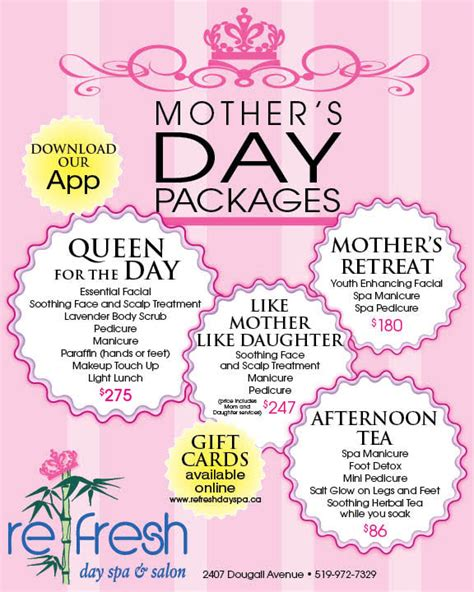 s day specials specials archives refresh day spa