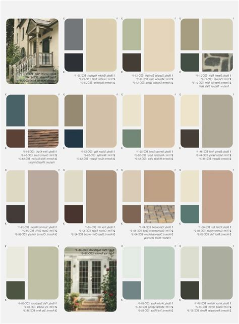 house color schemes outside house paint color combinations ideas for the