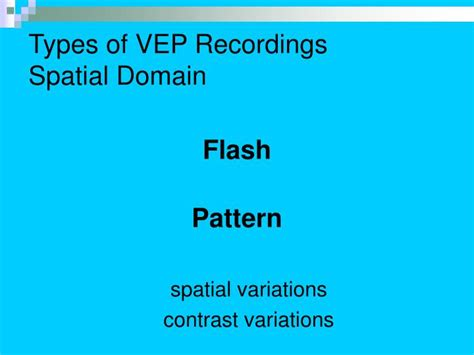 flash pattern vep ppt visual evoked potentials powerpoint presentation