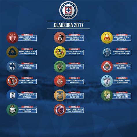 Azul Calendario Calendario De Azul Para El Clausura 2017 Foro