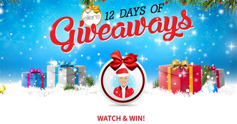 How To Get 12 Days Of Giveaways Tickets - ellen s 12 days of giveaways what is today s holiday emoji winzily