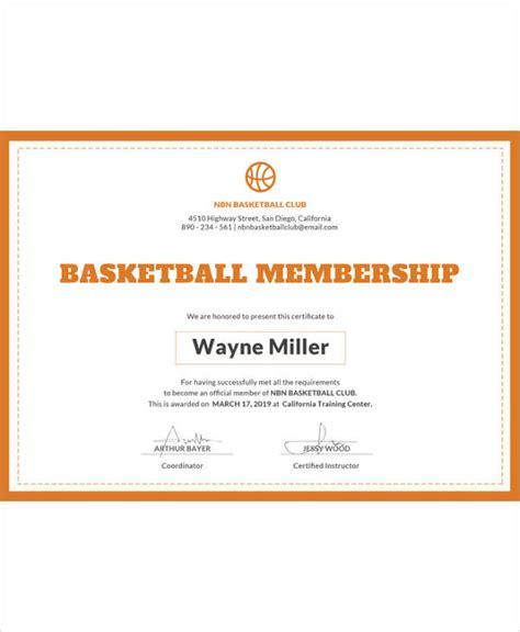 Free Membership Card Template by Certificate Template 45 Free Printable Word Excel Pdf