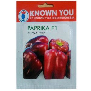 Benih Terong Known You Seed benih known you seed paprika purple 100 biji jual