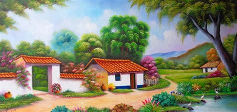 cuadros modernos pinturas art 237 sticas figurativas victor imagen de paisajes para competir de arte montmartre colombia