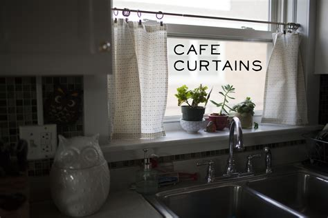 cafe kitchen curtains cafe curtains make great