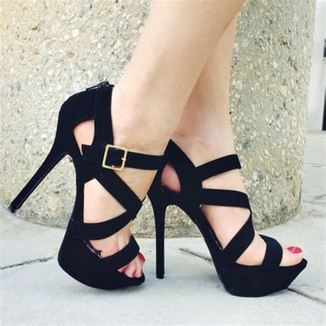 beautiful shoes high heels shoes pretty beautiful black high heels black high