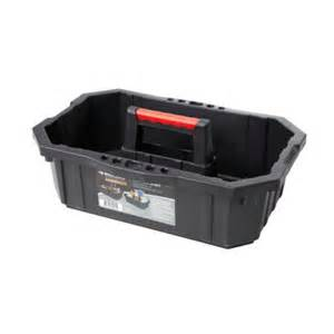 home depot tool boxes husky husky 1 compartment professional tool caddy 211892 the