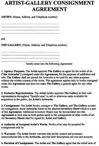 painting how to artist contracts and agreements