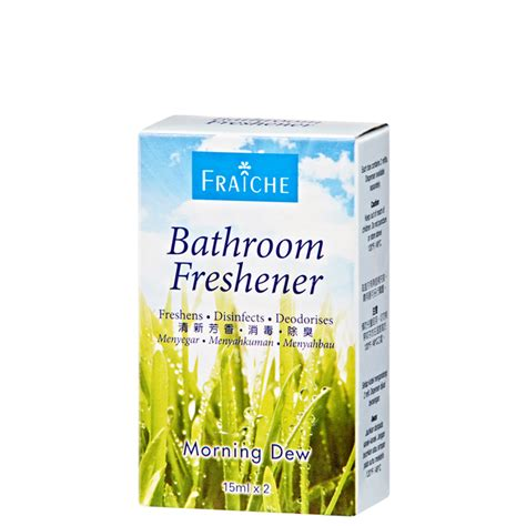 bathroom freshener morning dew cosway