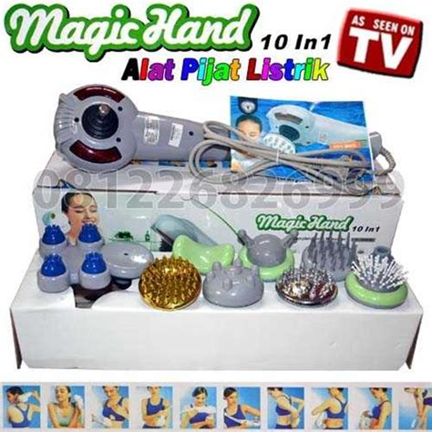 Alat Pijat Listrik Magic jual magic 10 in 1 alat pijat listrik model terbaru