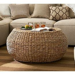 seagrass bench pottery barn pottery barn ottomans and benches pottery barn round woven seagrass coffee table