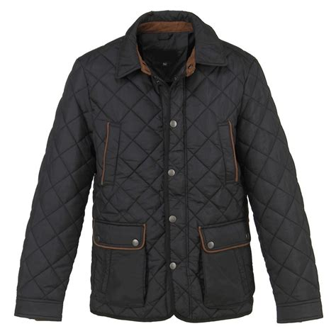 Quilted Jacket Black by Out Of Ireland Black Quilted Jacket