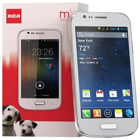 rca m1 4 0 quot unlocked cell phone dual sim 5mp andriod 4 4 1 rca mobile phone