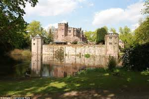 castles for sale in england one of the last moated castles in england is for sale and