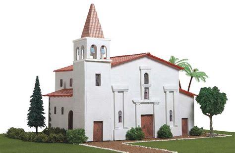 Mission Santa Barbara Floor Plan Towerhobbies Com Hobbico California Mission Project