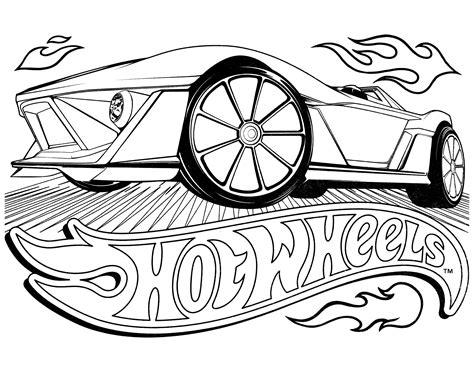 imagenes para imprimir hot wheels hot wheels 55 transporte p 225 ginas para colorear