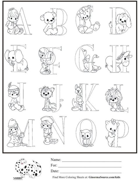 coloring pages precious moments alphabet kids coloring page precious moments alphabet part 1