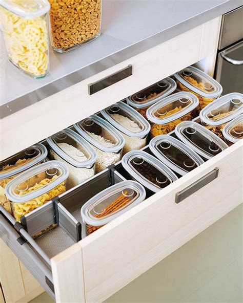 organizing kitchen drawers 35 functional kitchen cabinet with drawer storage ideas