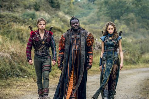into the badlands tv show on amc canceled or renewed into the badlands season three amc unveils first trailer