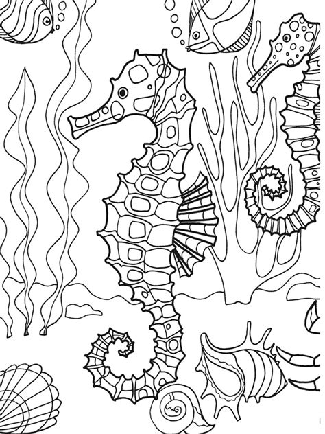 under the sea coloring pages for kids az coloring pages