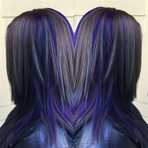 purple brown hair color purple with a brown base hair colors ideas
