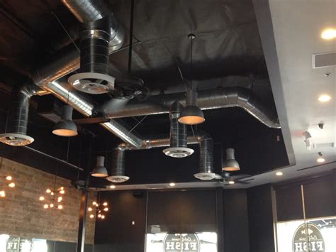 painting a basement ceiling exposed ductwork etc exposed ductwork exposed ductwork residential