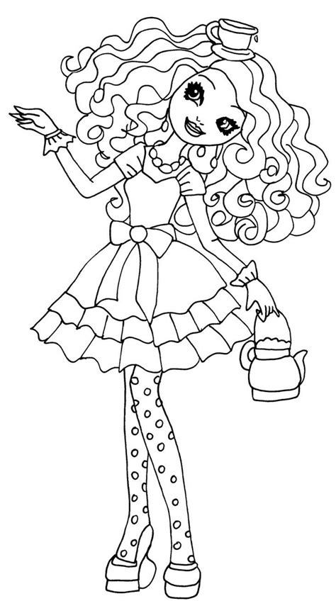 ever after high pet coloring pages 17 best images about ever and monster high on pinterest