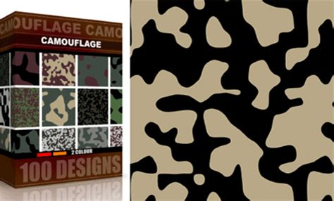 2 color pattern design vector seamless camouflage pattern 2 color vector