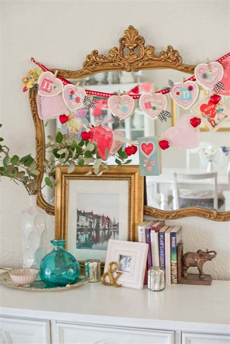 valentine s day decor ideas cheap and easy to make art ideas crafts