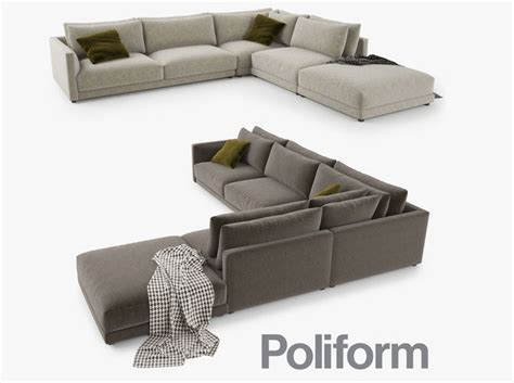 big sofa mömax poliform bristol sofa 3d model cgtrader