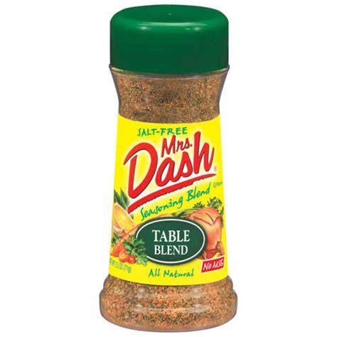 Mrs Dash Table Blend by Mrs Dash Table Blend Salt Free Seasoning Blend 2 5 Oz