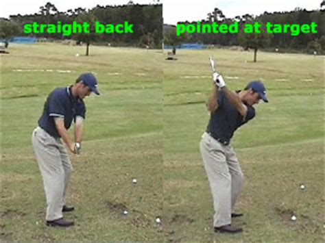 golf swing straight back straight through 2005 nehs golf swings