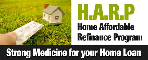the home affordable refinance program harp real estate