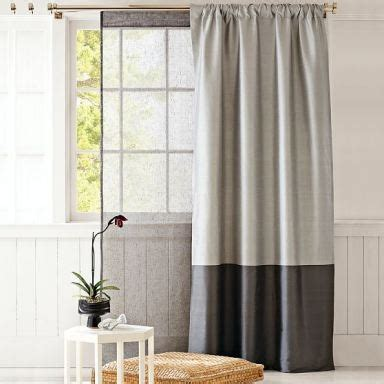 2 tone curtains two toned curtains deco pinterest