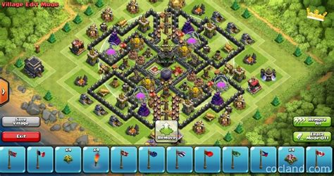 air sweeper town hall 9 farming base royal river perfect town hall 9 farming base coc land