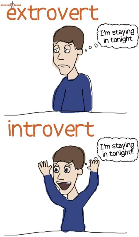 nothing wrong with being an introvert except extrovert